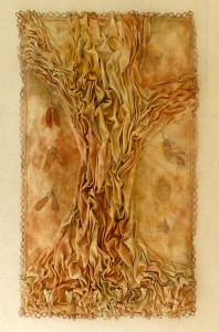 "Forest Reliquary, 28""h x 16""w, $870"